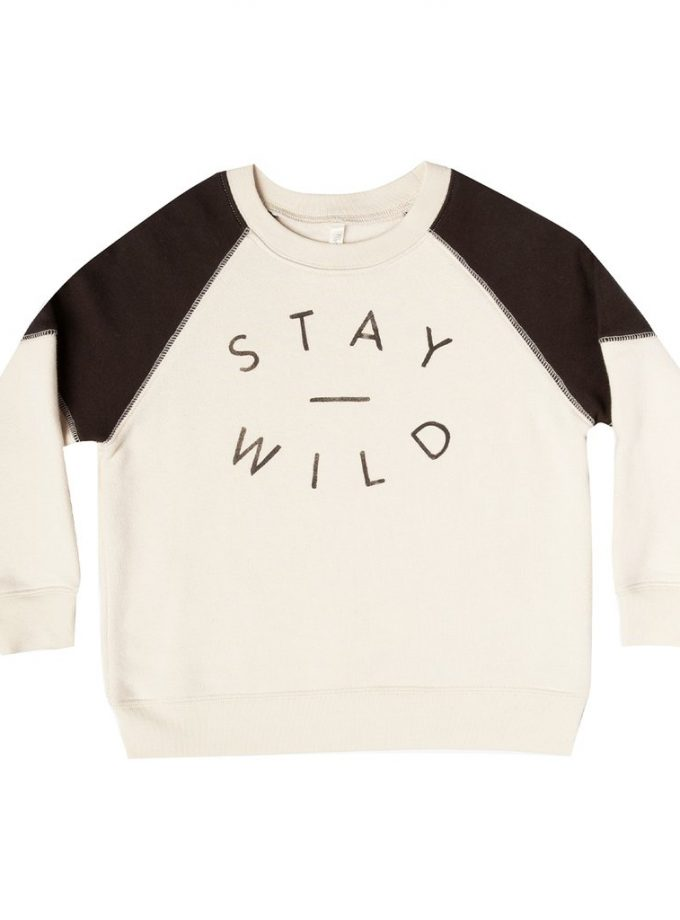 Sweat Rylee Cru Stay wild