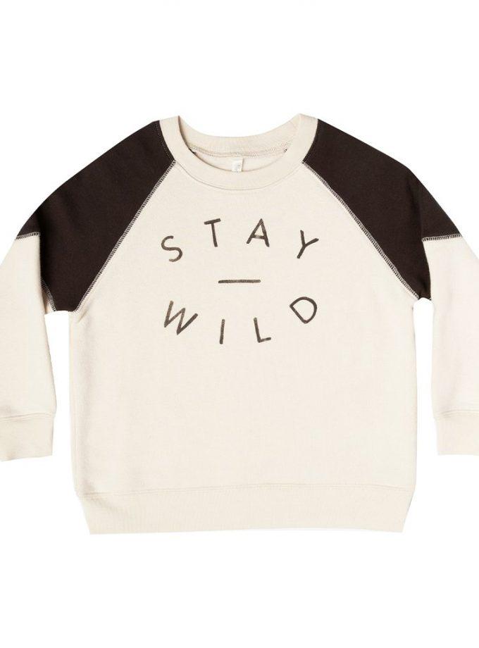 Sweat Rylee Cru Stay wild